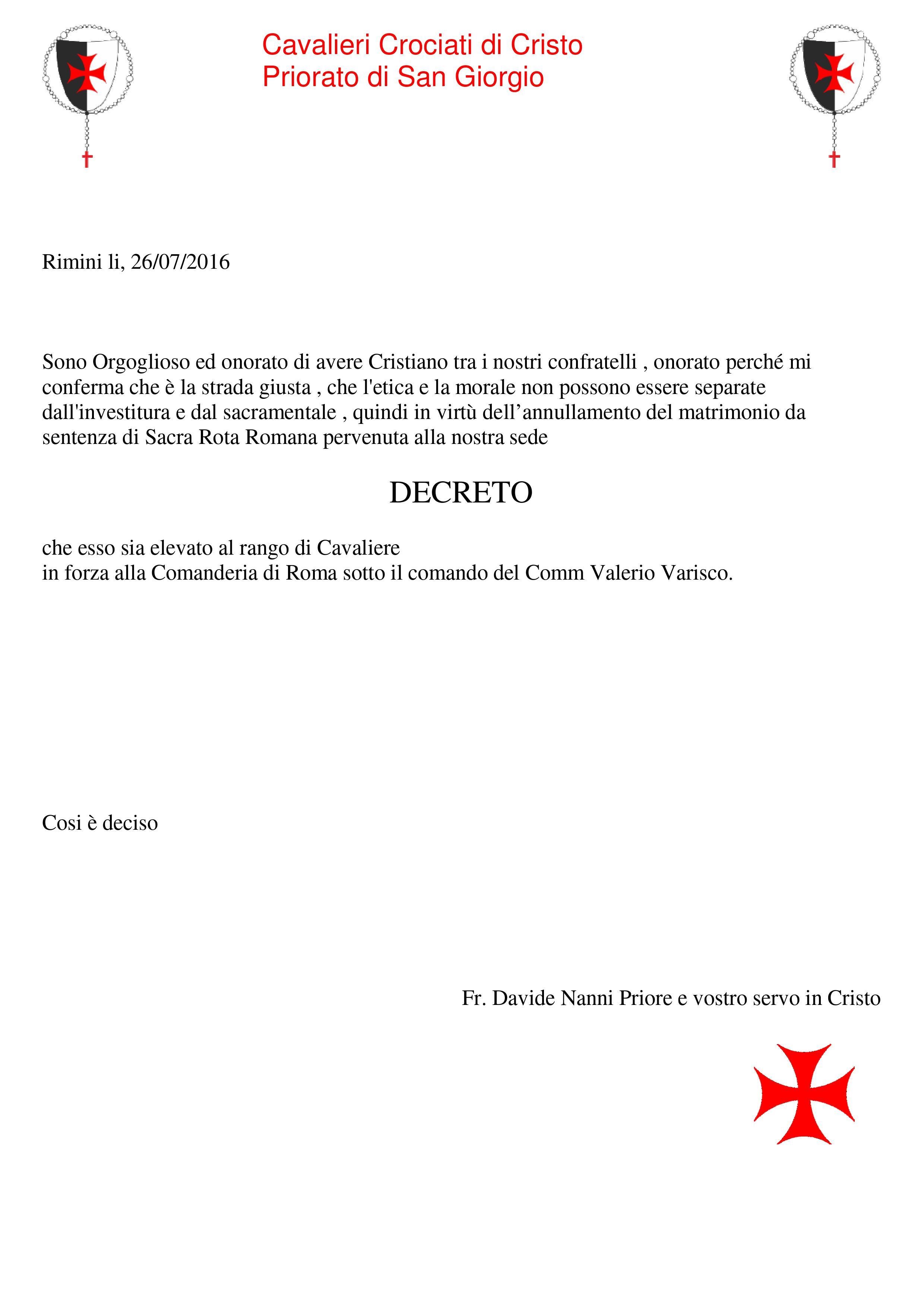Decreto -2016-Cristiano