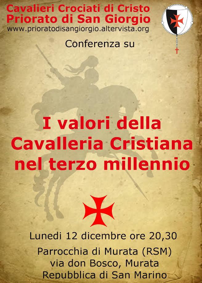 I valori della Cavalleria Cristiana