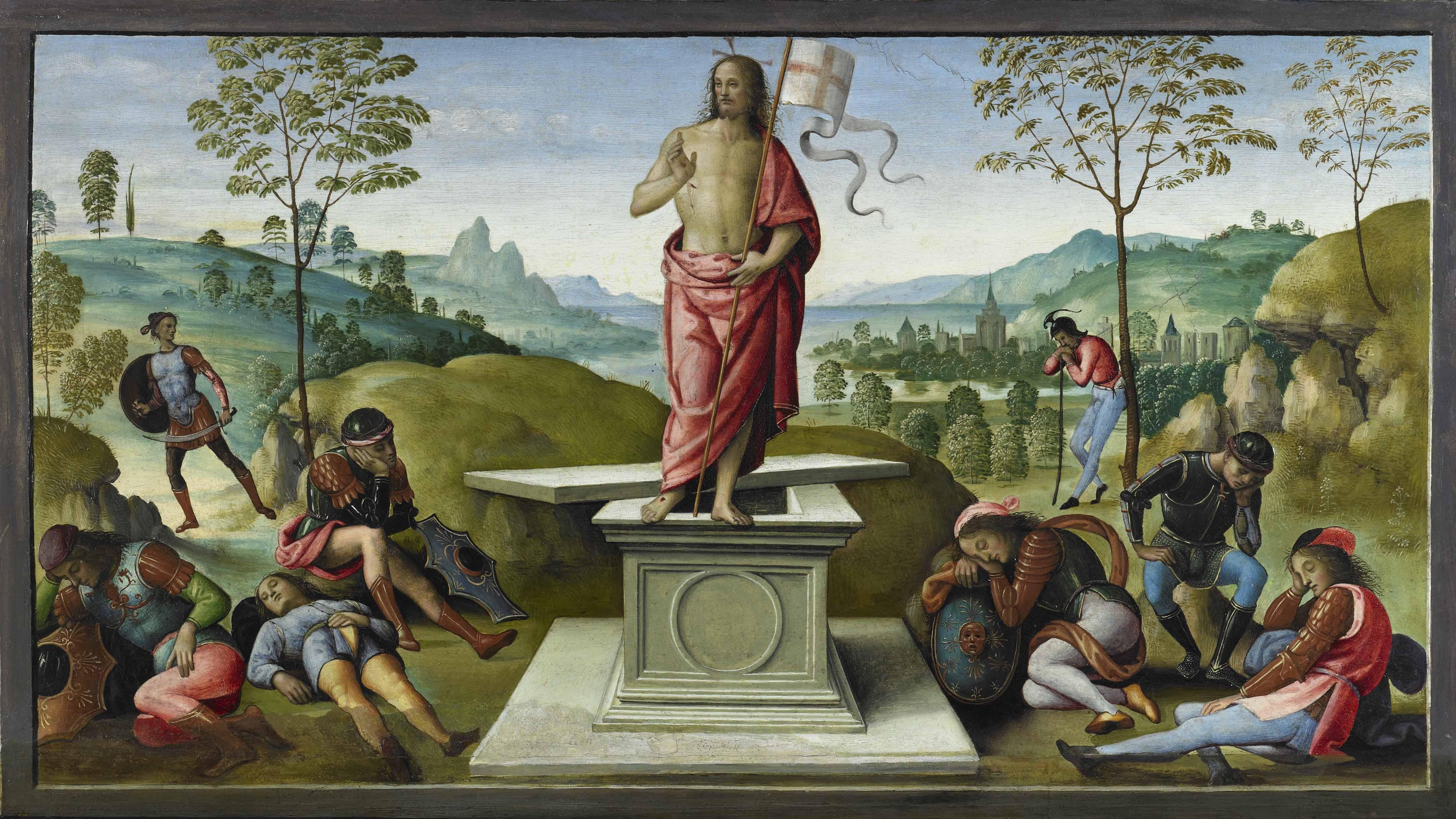 Perugino-La-Resurrezione