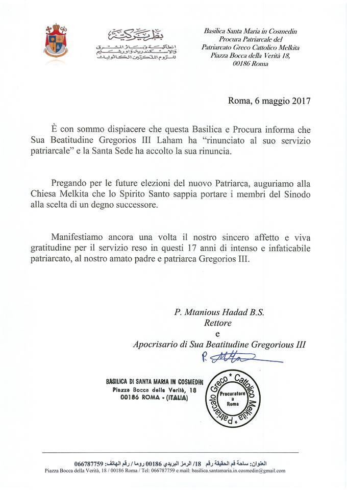 Patriarca Gregorio III